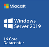 Microsoft Windows Server 2019 Datacenter Retail Version with 16 Cores and 25 User CALs - Download