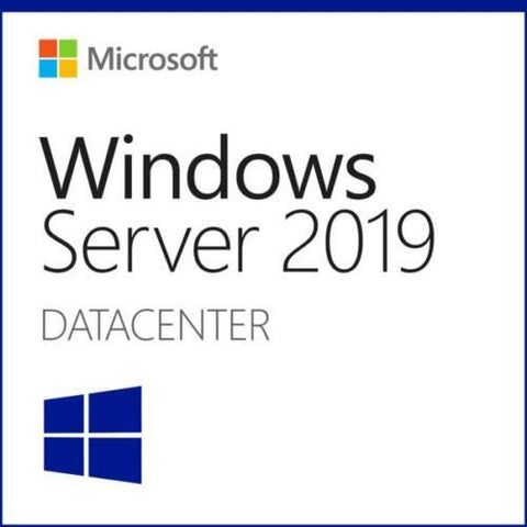 Microsoft Windows Server 2019 Datacenter - 64Bit - 10 User CALS - 12 Core - Download