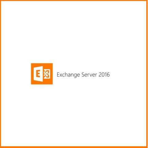 Microsoft Exchange 2016 Server Standard with 10 CALs | Full Retail