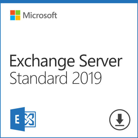 Microsoft Exchange 2019 Server Standard with 10 User CALs | Full Retail