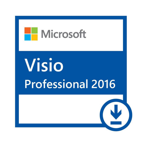 Microsoft Visio Professional 2016 Full Retail Version