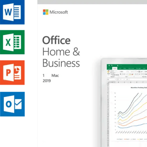 FOR MAC ONLY- Microsoft Office Home & Business 2019 for 1 Mac Download - Mac Office 2019