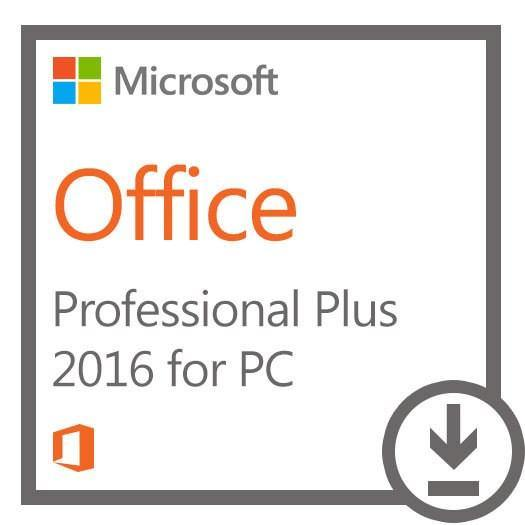 FOR PC ONLY- Microsoft Office Professional Plus 2016 (1 PC) Full Retail Version Download