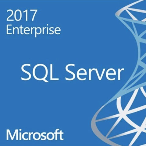 Microsoft SQL Server 2017 Enterprise - Unlimited Core, 10 CAL - 64 Bit Comp