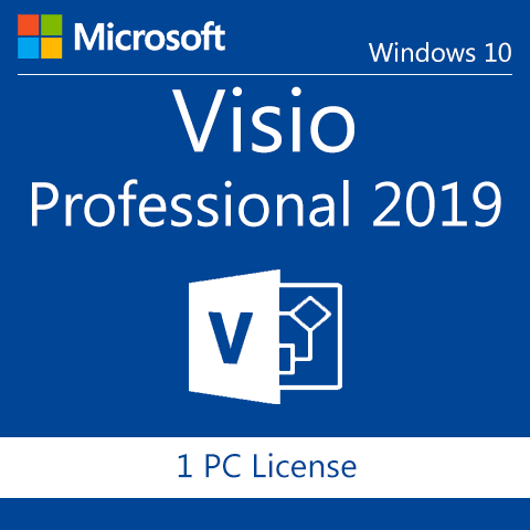 Microsoft Visio Professional 2019 Full Retail Version
