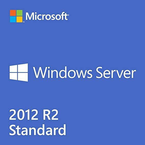 Microsoft Windows Server 2012 R2 Standard Full Retail Version with 10 User CALs