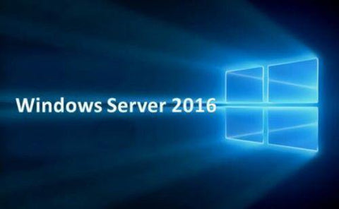 Microsoft Windows Server 2016 Standard Edition x64 64 bit with 24 Core, 25 CALs and 2 VMs