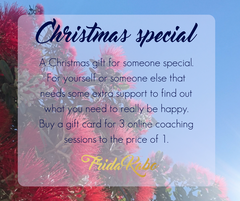 Life Coaching Sessions with Frida Kabo - Christmas gifts for women