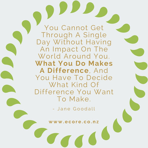 You cannot get through a single day without having an impact on the world around you. What you do makes a difference, and you have to decide what kind of difference you want to make. - Jane Goodall