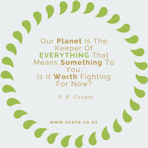 Our planet is the keeper of everything that means something to you. Is it worth fighting for now? - S. B. Cooper