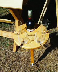 Portable wine table for mum - Christmas gift ideas for mum