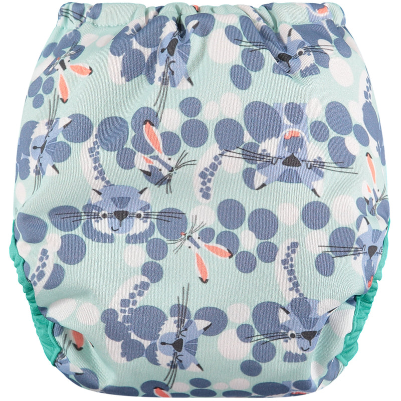 Pop-in Reusable Nappy - Bamboo - Snow Leopard