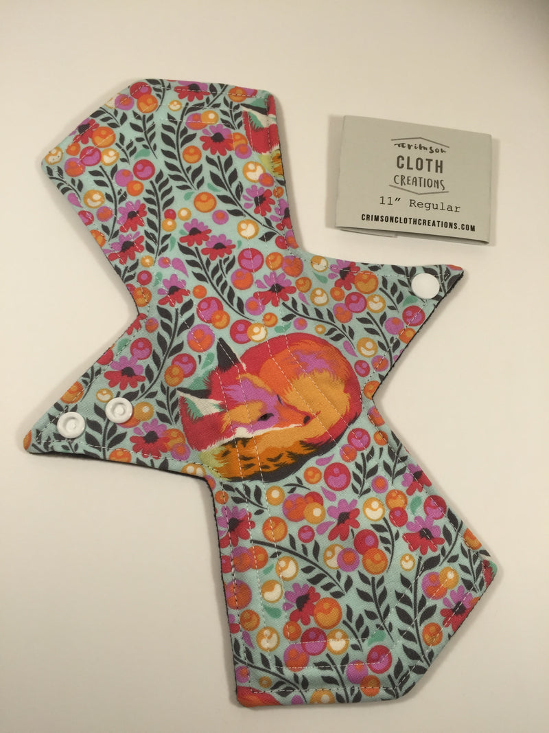 "Cloth Menstrual Pad - 11"" Heavy"