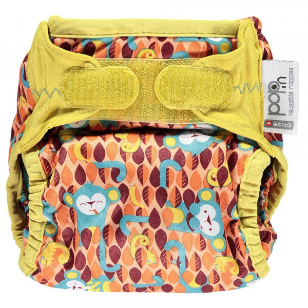 Pop-in Reusable Nappy - Bamboo - Monkey