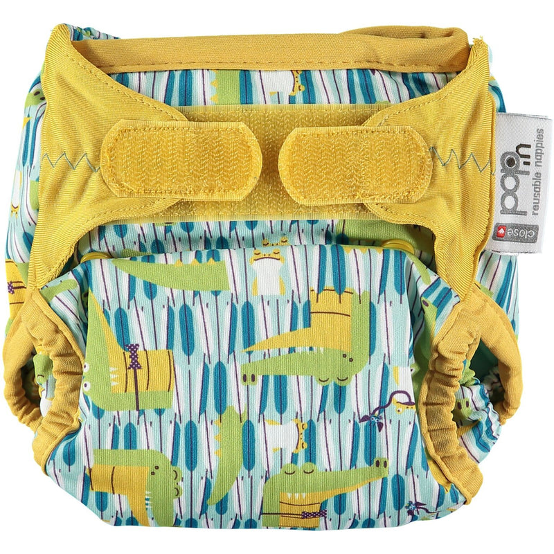 Pop-in Reusable Nappy - Bamboo - Crocodile