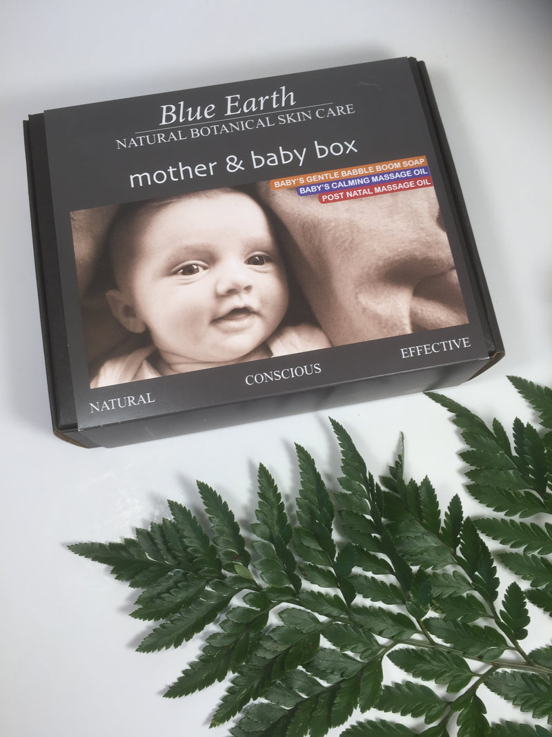 Mother and baby box - Blue Earth