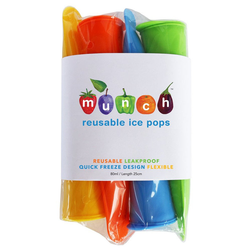 reusable silicone ice pops
