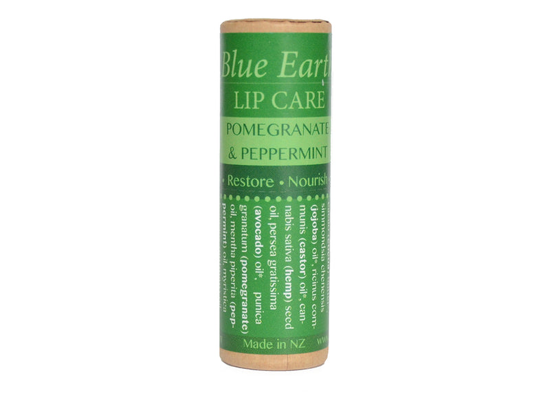 Pomegranate and Peppermint Lip Balm - Blue Earth