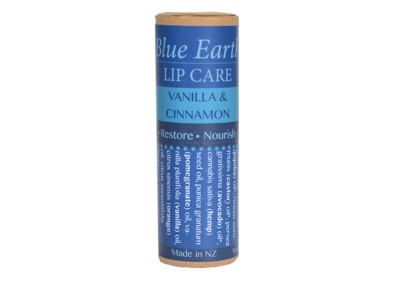 Vanilla and Cinnamon Lip Balm - Blue Earth