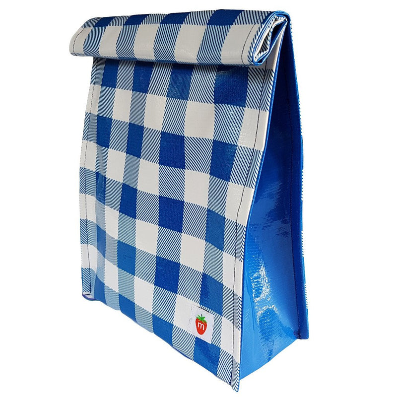 Roll down lunchbag - Blue