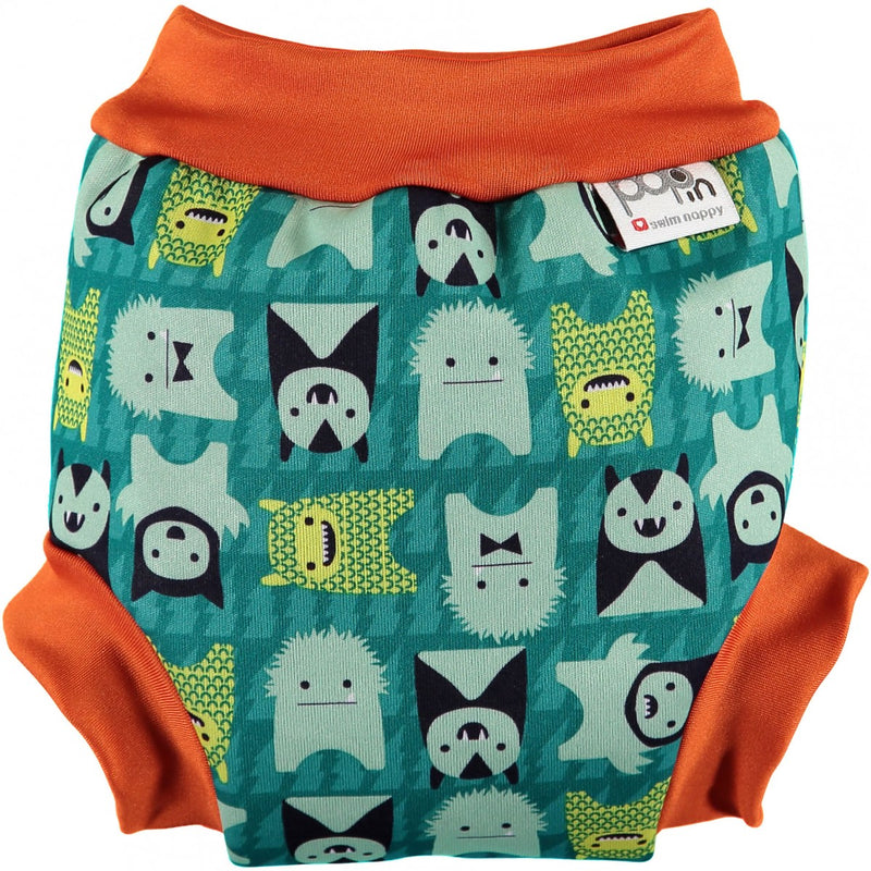 Pop-In Swimming Nappy - Monster Herman