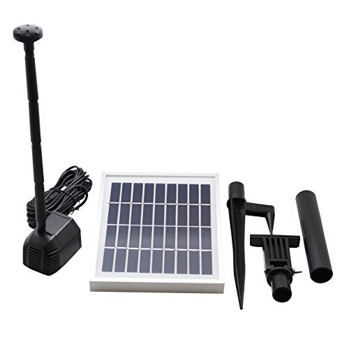 2.5 Watts Solar Water Pump Kit Daytime Version