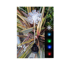 Solar Butterfly Color Change Changing Light Garden Stakes Garden - 2/pack