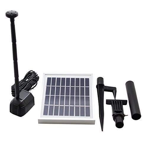 2.5 Watts Solar Water Pump Kit Daytime Version - Open Box