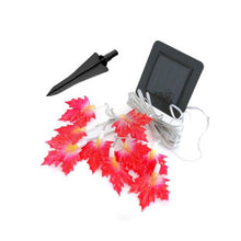 Maple Leaf String Solar LED Light