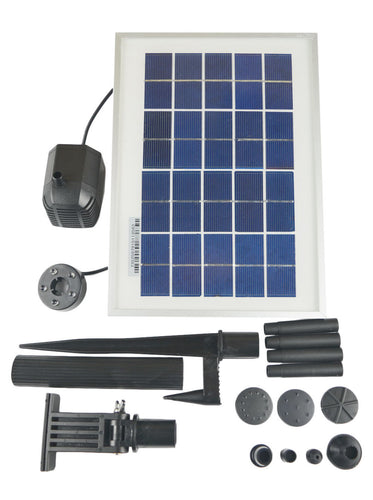 3 Watts Standard Solar Water Pump Battery/Timer Kit