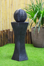 Pedestal & Ball Solar Water Fountain
