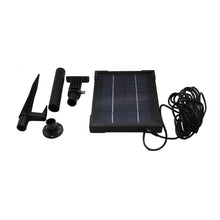 ASC Solar Panel for Ring Stick Up Cam Continuously with 5 m/16.4 ft Power Cable