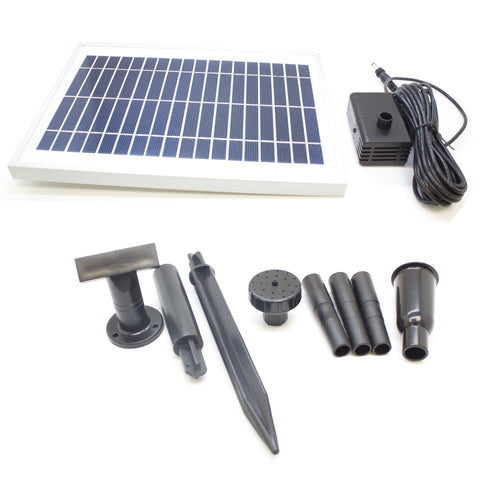 ASC 5 Watt Solar Powered Water Pump Day Runner No Battery Version - Open Box