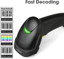 Handheld USB Barcode Scanner Wired Automatic 1D Bar Code Reader with USB Cable