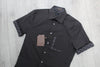 LOUIS VUITTON DAMIER GRAPHITE SHORT SLEEVED SHIRT