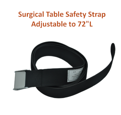 "154-1 | Body & Leg Surgical Table Strap: Adjustable to 72"" Long"