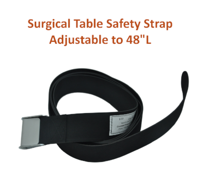 "154-2 | Body & Leg Surgical Table Strap: Adjustable to 48"" Long"
