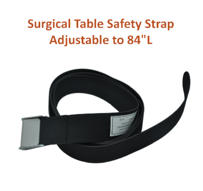 "154-4 | Body & Leg Surgical Table Strap: Adjustable to 84"" Long"