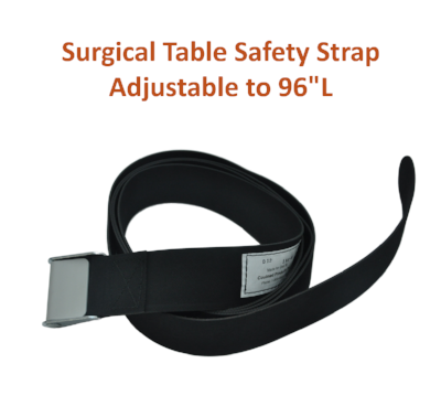 "154-5 | Body & Leg Surgical Table Strap: Adjustable to 96"" Long"
