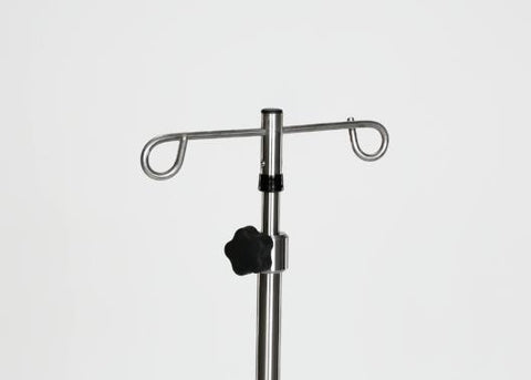 Stainless Steel 5-leg IV Pole