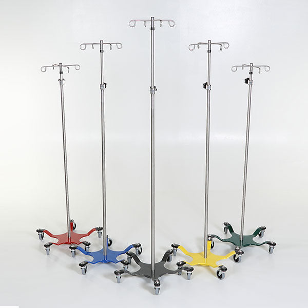 Stainless Steel 5-leg Spider IV Pole