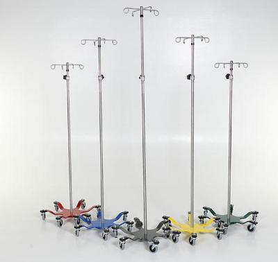 Chrome 6-leg Spider IV Pole