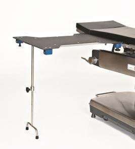AC2200-2 Hourglass Phenolic Arm & Hand Surgery Table with Double Tee Leg