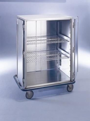 "AC505 Ultra Space-Saver Case Cart, Stainless Steel, 42""W x 29""D x 55 1/2""H"