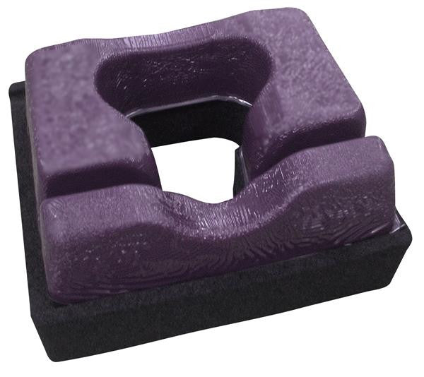 "GP216-1 Gel & Foam, Anesthesia Prone Headrest with Tube Channels: 9""W x 10-5/8""L x 4-1/2""H"