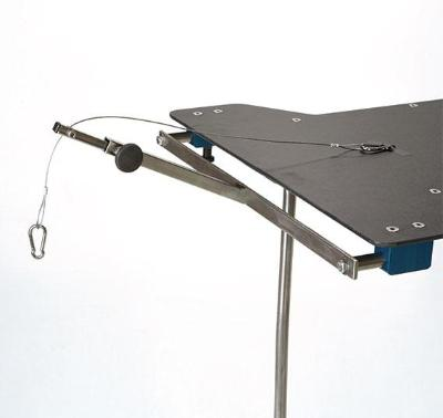 AC1550-24 Horizontal Traction Tower for Hourglass Style Arm & Hand Surgery Tables
