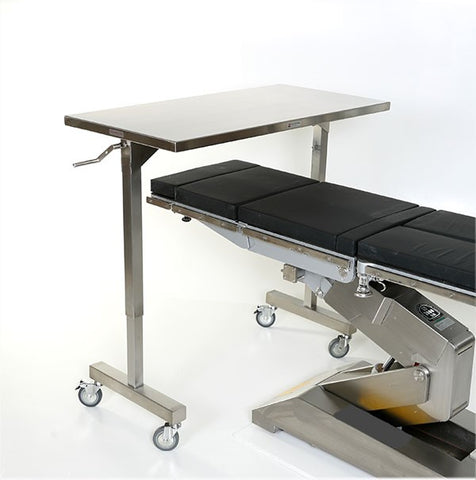 "AC2085 | Height Adjustable Instrument Table: 60""L x 24""D"