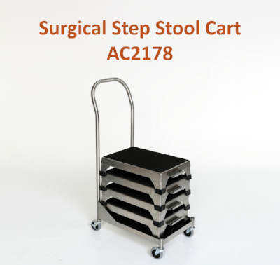 AC2178 | Surgical Step Stool Cart