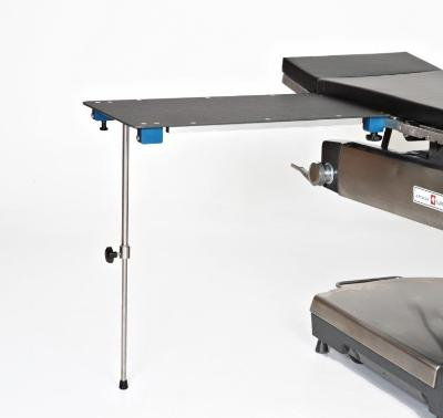 Rectangle Arm & Hand Surgery Table with Single Post Leg