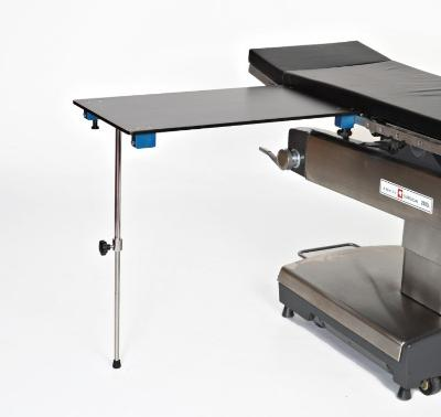 Rectangle Carbon Fiber Arm & Hand Surgery Table with Single Post Leg